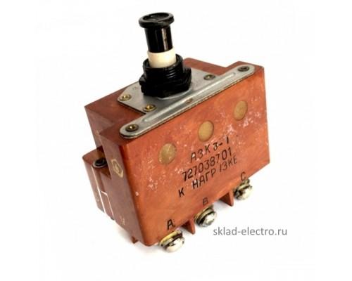 Автомат защиты АЗК3-2 (3-х фазн.)