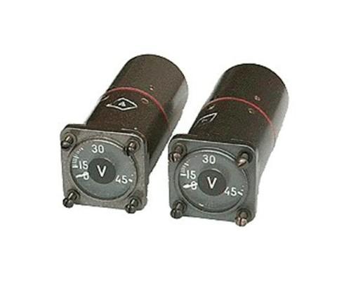 Вольтметр ВФ 0,4-250 «К» (Витебск) под красный свет.